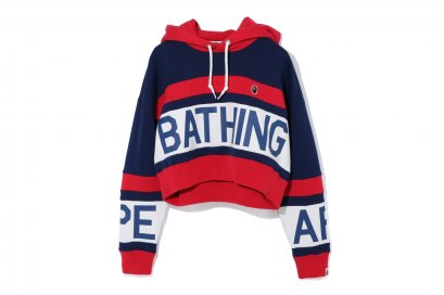 CROPPED PULLOVER HOODIE L