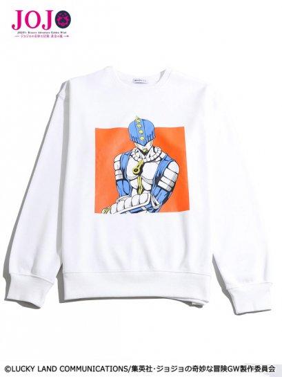 [Price 1,650/Deposit 1,000][Please Read All Detail] JOJO WEGO Sticky Finger Sweater, เสื้อแขนยาว สติ๊กกี้ ฟิงเกอร์, โจโจ้ ล่าข้ามศตวรรษ ภาค 5, Jojo's Bizarre Adventure Part 5, Vento Aureo, Golden Wind