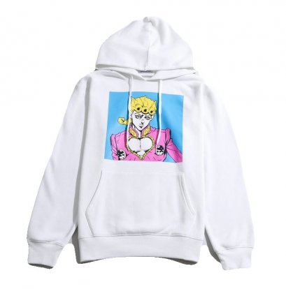 [NEW] JOJO WEGO Giorno Giovanna Hoodies Sweater Color Print, Jojo's Bizarre Adventure Part 5, Vento Aureo, Golden Wind