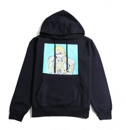 [Price 1,650/Deposit 1,000][Please read detail] JOJO WEGO Guido Mista Hoodies Sweater Color Print, เสื้อฮู้ด กุยโด้ มิซูต้า, โจโจ้ ล่าข้ามศตวรรษ ภาค 5, Jojo's Bizarre Adventure Part 5, Vento Aureo, Golden Wind