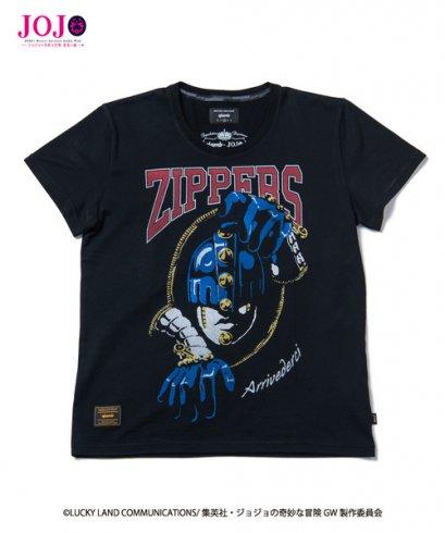[Price 3,450/Deposit 2,450] Glamb, T-Shirt, Sticky Finger Jojo's Bizarre Adventure Part 5, Vento Aureo, Golden Wind