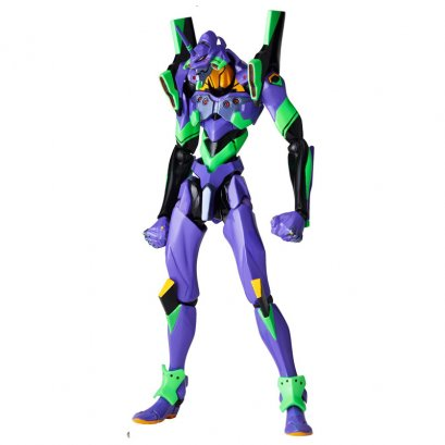 "[Price 2,050/Deposit 1,200][Please Read All Detail][FEB2020] Revoltech EVANGELION EVOLUTION EV-001S EVA-01 ""Evangelion: 1.0 You Are (Not) Alone"", Action Figure"