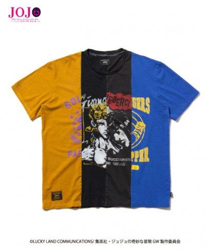 [NEW][SIZE-XL]  Glamb, T-Shirt, Giorno Giovanna,Bruno Bucciarati,  Jojo's Bizarre Adventure Part 5, Golden Wind(copy)