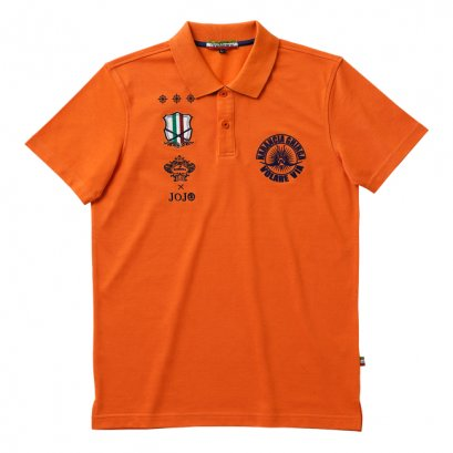 [Please Read All Detail][Price 5,800/Deposit 3,000] JOJO OROBIANCO, Polo Shirt Narancia Ghirga ORANGE, เสื้อโปโล สีส้ม นารันชา กิลเกอร์ โจโจ้ ล่าข้ามศตวรรษ ภาค 5 สายลมทองคำ, Jojo's Bizarre Adventure Part 5, Vento Aureo, Golden Wind