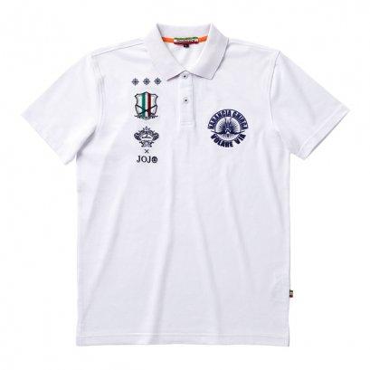 [Please Read All Detail][Price 5,800/Deposit 3,000] JOJO OROBIANCO, Polo Shirt Narancia Ghirga WHITE, เสื้อโปโล สีขาว นารันชา กิลเกอร์ โจโจ้ ล่าข้ามศตวรรษ ภาค 5 สายลมทองคำ, Jojo's Bizarre Adventure Part 5, Vento Aureo, Golden Wind