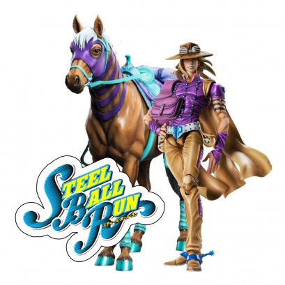 [Price 14,250/Deposit 7,000][JUNE2021] SAS JOJO, Gyro Zeppeli Version 1.5, Jojo's Bizarre Adventure Part 7, Steel Ball Run