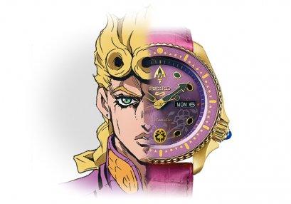[NEW Full Payment][กรุณาอ่านเงื่อนไขให้ละเอียด][NOV2019] SEIKO WATCH 5 SPIRITS, JOJO GOLDEN WIND, Jojo's Bizarre Adventure Part 5, Golden Wind, นาฬิกาข้อมือ, โจโจ้ ล่าข้ามศตวรรษ ภาค 5, สายลมทองคำ
