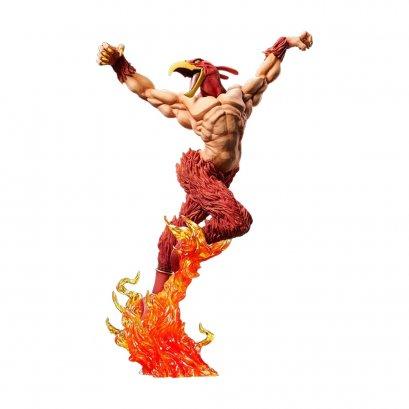 Dimolto_bene_Medicos_Entertainment_Statue_Legend_Jojo_Bizarre_Adventure_Stardust_Crusaders_Magician_Red