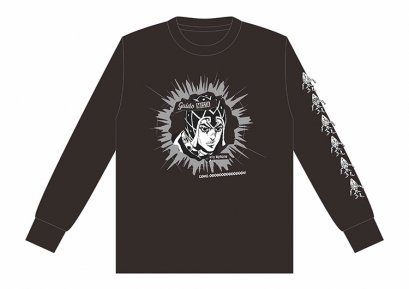 [Price 2,150/Deposit 1,000][Please Read All Detail] JOJO Long Sleeve T-Shirt Guido Mista, BLACK, SPINNS, Jojo's Bizarre Adventure Part 5, Golden Wind