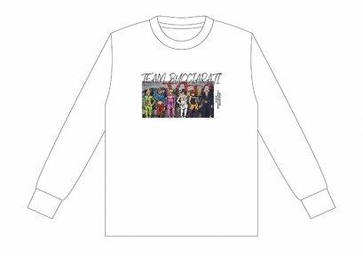 [Price 2,150/Deposit 1,000][Please Read All Detail] JOJO Long Sleeve T-Shirt Bucciarati Team, WHITE, SPINNS, Jojo's Bizarre Adventure Part 5, Golden Wind