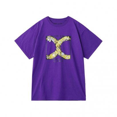 [Please Read All Detail][Price 2,600/Deposit 1,800] JOJO X-GIRL, T-Shirt Golden Logo PURPLE