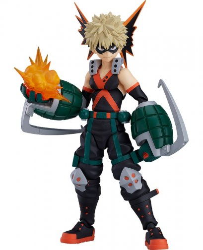 [JAPAN LOT][Price 2,600/Deposit 1,300][Please Read All Detail][DEC2019] Figma, Katsuki Bakugo, My Hero Academia