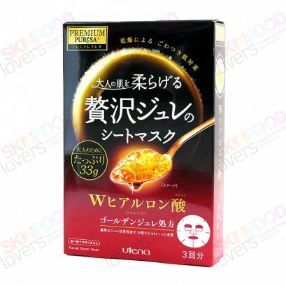 Utena PREMIUM PUReSA Golden Jelly Mask Hyaluronic 1 Box