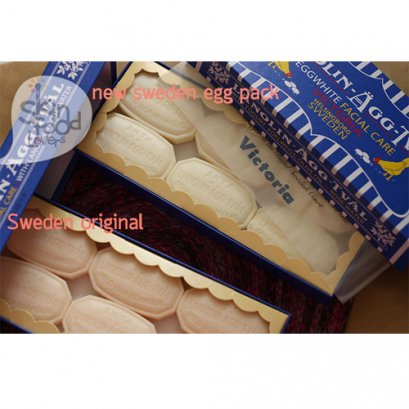 New Victoria Sweden Egg Soap 2013 50g x 6
