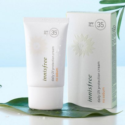 Pre Order -Innisfree Daily UV protection cream no sebum SPF35 PA+++ 50ml