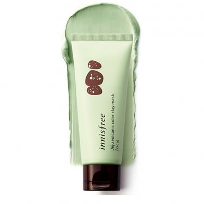 Innisfree Jeju Volcanic Color Clay Mask - Cica 70ml (Green)