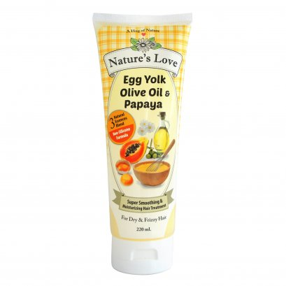 Nature's Love Super Smoothing & Moisturizing Hair Treatment 220 ML.