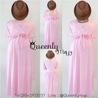 Bowie  Maternity & Nursing Dress