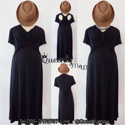 Veeva Maternity & Nursing Dress