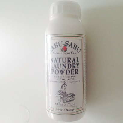เทียนหอม ธรรมชาติ SABU-SABU ผงซักฟอก 500 ml