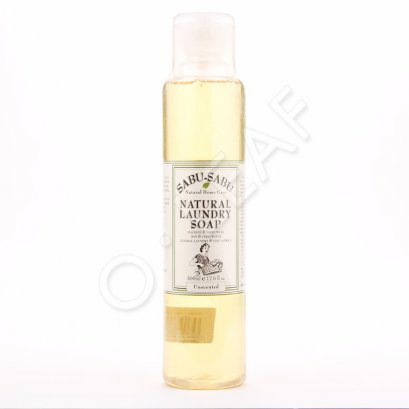 ผลิตภัณฑ์ทำความสะอาด ธรรมชาติ SABU-SABU น้ำยาซักผ้าสูตรไม่มีน้ำหอม 0.5 Lt