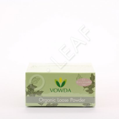 Vowda loose powder C1 (fair color)