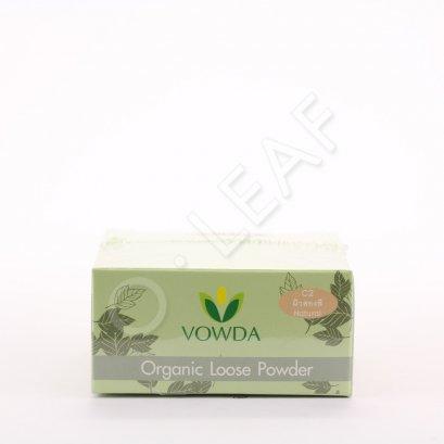 Vowda แป้งฝุ่นควบคุมความมัน (สีธรรมชาติ) สูตรพิเศษ