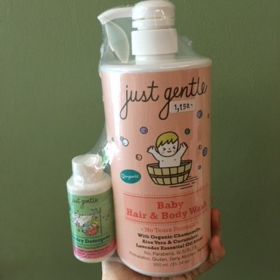 Just Gentle Baby Face and Body Wash 950ml