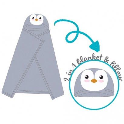 พัฟกวิน ผ้าห่ม + หมอน 2 in 1 Hug Me Mom Blanket