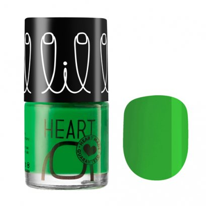 Little Heart Nail Colors ยาทาเล็บ # 04  สีเขียว Go Green ขนาด 8 ML