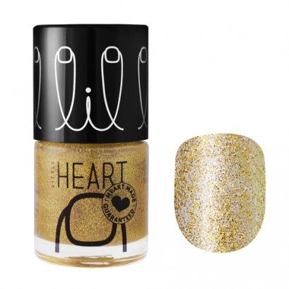 Little Heart Nail Colors ยาทาเล็บ # 25 สีทองกลิทเทอร์  Stardust 8 ML