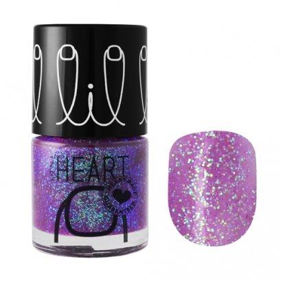 Little Heart Nail Colors ยาทาเล็บ # 26 สีม่วงกลิทเทอร์  Magic Wink 8 ML