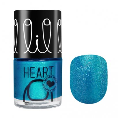 Little Heart Nail Colors # 29 Elsa's Dream, Glitter blue8 ML