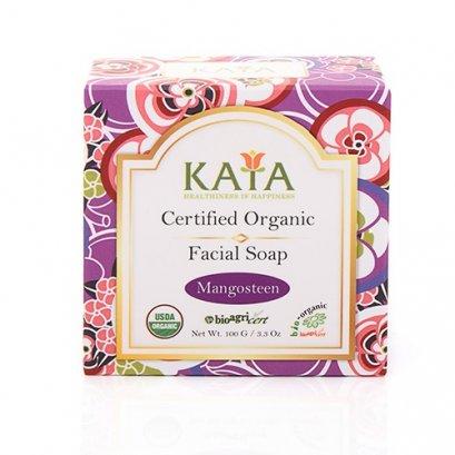 KAYA สบู่ล้างหน้าออร์แกนิค USDA (มังคุด) 100g