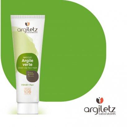 Argiletz โคลนเขียว สำหรับมาส์กหน้า 100g