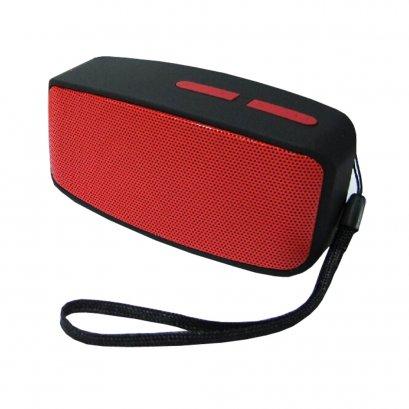 Bluetooth Speaker-ลำโพงบลูทูธไร้สาย สีแดง