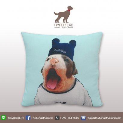 หมอนอิงรูปหมาอิงลิช บูลล์ด็อก