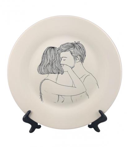 จานพิมพ์ Stop Dish&Plate