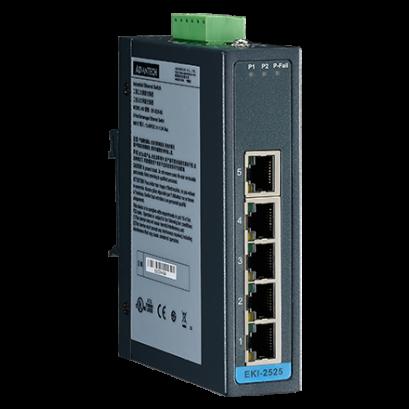 EKI-2525LI : ADVANTECH  Industrial Ethernet Switch