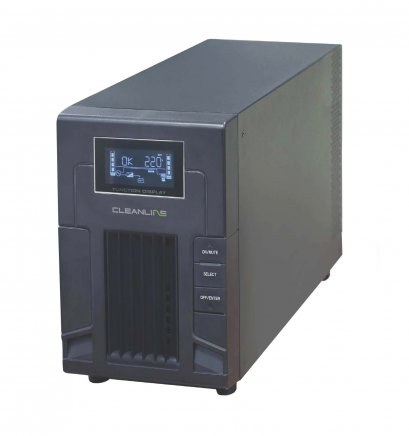 UPS CLEANLINE PS-1500 : 1500VA / 990W Line Interactive