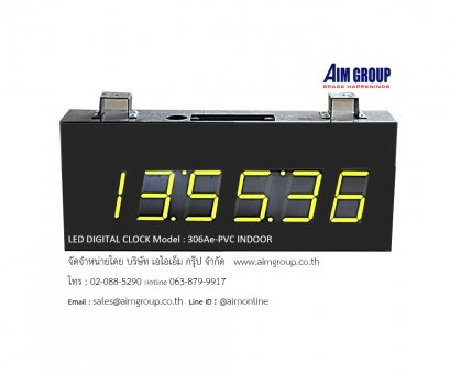 LED DIGITAL CLOCK CK -306Ae-PVC INDOOR