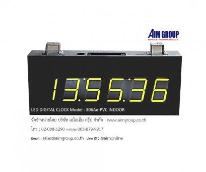 LED DIGITAL CLOCK CK -306Ae-PVC INDOOR