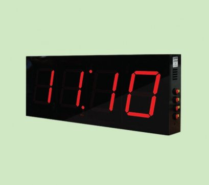 LED DIGITAL CLOCK  Model: CK-404A-PVC