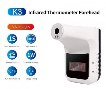K3 Infrared Thermometer เครื่องวัดอุณหภูมิอินฟราเรดแบบไม่สัมผัส,เกจวัดอุณหภูมิ3จุด °C/°F