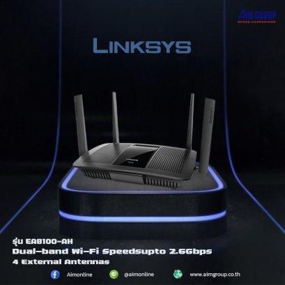 Linksys EA8100 Max-Stream  AC2600 MU-MIMO Gigabit WiFi Router
