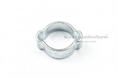 เข็มขัดรัดท่อแบบใช้คีมย้ำ 11-13 mm