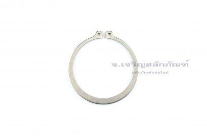 แหวนล็อคนอก แหวนล็อคเพลา สแตนเลส 65 mm (เบอร์ 65)