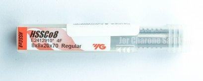 ดอกเอ็นมิล HSSCo8 YG 4 ฟัน 8 mm