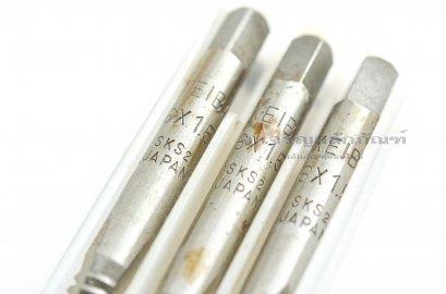 ดอกต๊าปเกลียว 3 ตัวชุด KEIBA M6x1.5