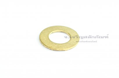 """แหวนอีแปะ M12 - 1/2"""" ทองเหลือง (12.8-24-1)"""